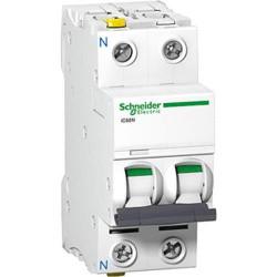 Автоматичний вимикач 0,5A 6kA 2 полюса тип D A9F75270 Acti9 iC60N Schneider Electric