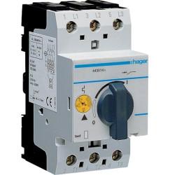 Автомат для захисту двигуна 0,4-0,6А 16kA MM504N Hager