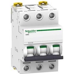 Автоматичний вимикач 0,5A 6kA 3 полюса тип C A9F74370 Acti9 iC60N Schneider Electric